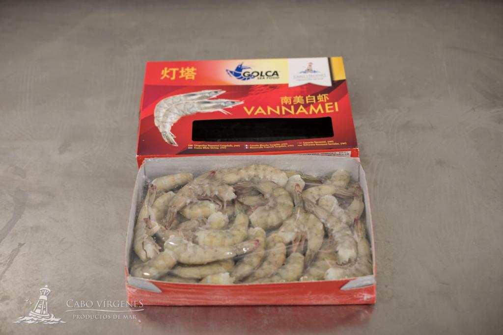 crevette vannamei