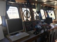 Vista del interior de uno de los barcos de nuestra flota.