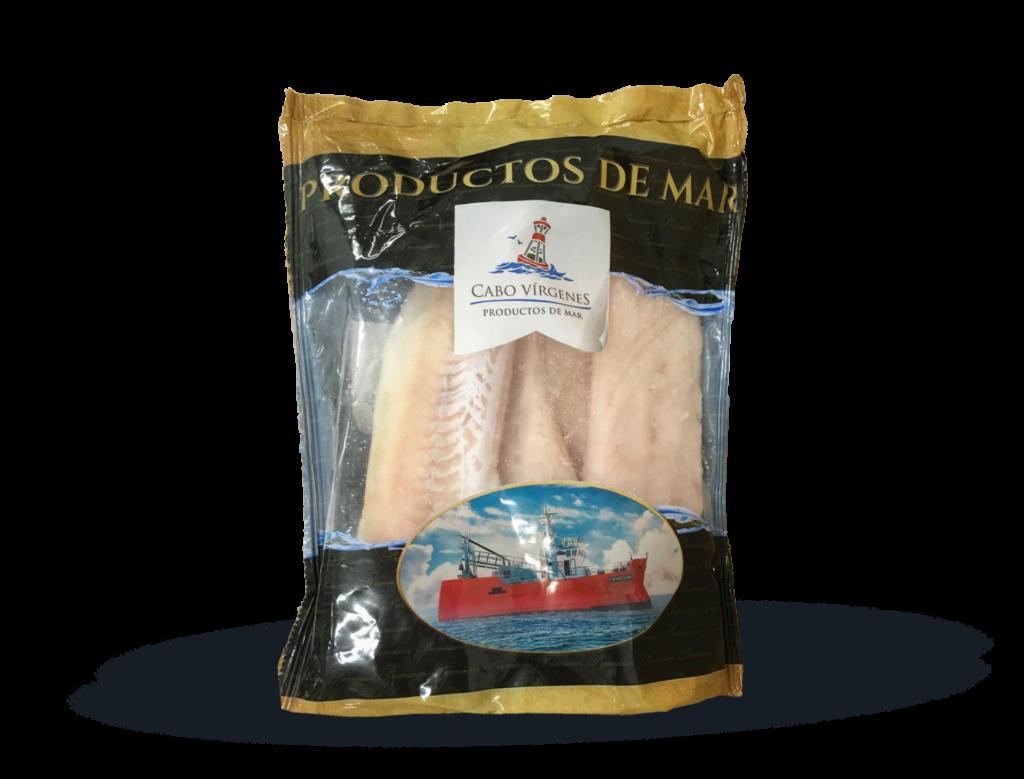 filetes de merluza argentina con piel