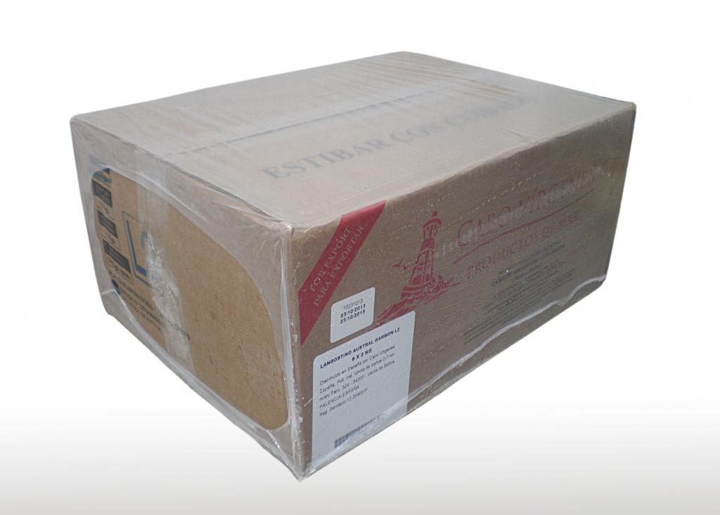 Caja master, de nuestra marca Cabo Vírgenes