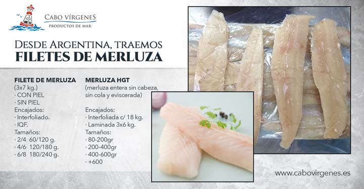 merluza argentina