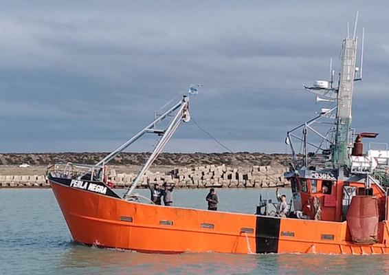 perla negra fresquero costero Cabo Vírgenes pesca del langostino austral